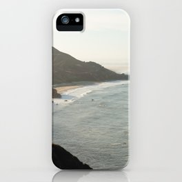 Sunrise over Big Sur iPhone Case