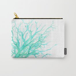 Coral reef in blue Carry-All Pouch