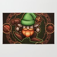 gnome Area & Throw Rugs featuring Gnome  by likelikes