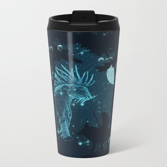 Forest Spirit Metal Travel Mug