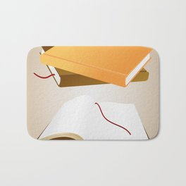 Books with background Bath Mat