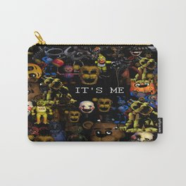 FNAF Cluster Design Carry-All Pouch