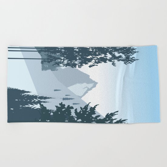 My Nature Collection No. 55 Beach Towel