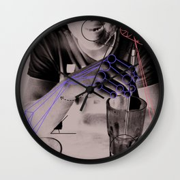 Leverage and Sustenance Wall Clock