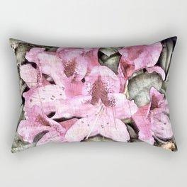 FLOWERS IN THE ATTIC Rectangular Pillow