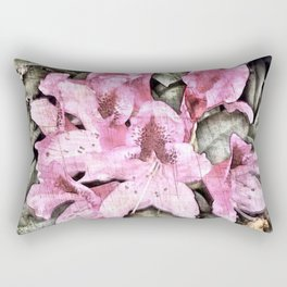 FLOWERS IN THE ATTIC Rectangular Pillow
