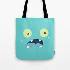 Monster Face Tote Bag