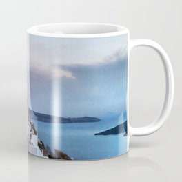 Santorini 8 Coffee Mug