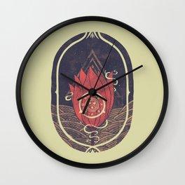 Pulsatilla Patens Wall Clock
