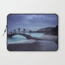 Blue Lagoon Blues Laptop Sleeve