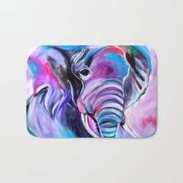 Save the Elephants Bath Mat