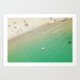 Beach Overlook Art Print