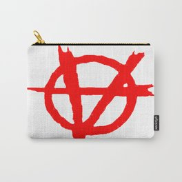 Vagenda Logo - Basic Red Carry-All Pouch