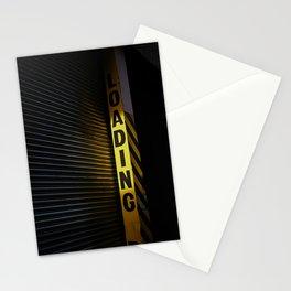 Urban street scene Yellow. Stationery Cards