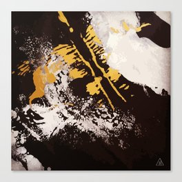 Ink Blot : Phoenix Canvas Print