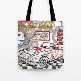 Keep your filthy paws of my silky draws Tote Bag