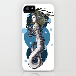 Sea Lamprey Mermaid iPhone Case