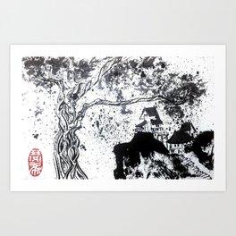 Lost Village Art Print