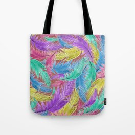 Feathers on Feathers Tote Bag