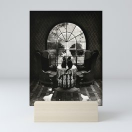 Room Skull B&W Mini Art Print