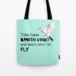 Learn how to fly Tote Bag