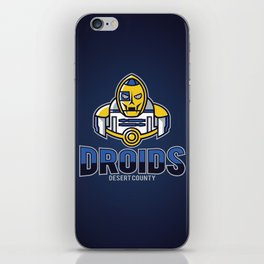 Desert County Droids - Navy iPhone Skin