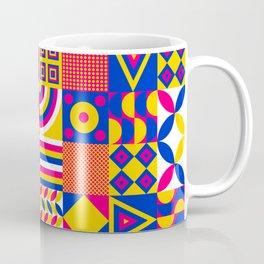 Vintage Hipster Cool Multicolor Decorative Decor Cubes Pattern Coffee Mug