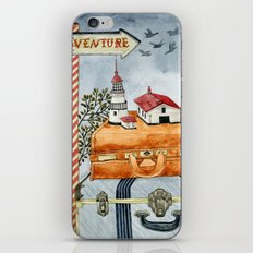 Suitcases are ready iPhone Skin