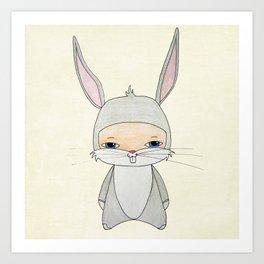 A Boy - Bugs Bunny Art Print