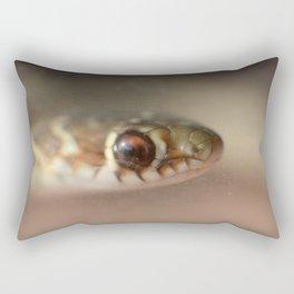 Snake or Fish? Rectangular Pillow