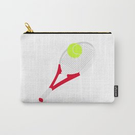 Tennis racket and tennis ball Carry-All Pouch