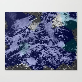 Ocean Chaos Canvas Print