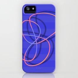 Fun lines iPhone Case