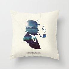 Sherlock - The Hound of the Baskervilles Throw Pillow