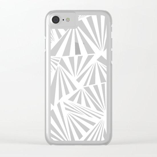 Ab Fan Spray Clear iPhone Case