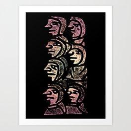 Committee Art Print