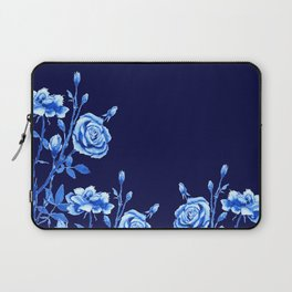 blue rose Laptop Sleeve