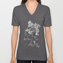 It's All Just Scribbles Unisex V-Neck