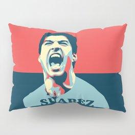 Luis Suarez, number one Uruguayan player. Pillow Sham
