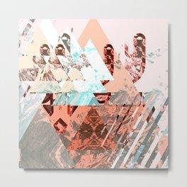 Diamond Case Metal Print