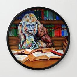 Ishmael- homage to Daniel Quinn Wall Clock