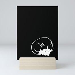 Siberian Husky 4 Mini Art Print