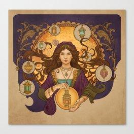 Lanterna magica Canvas Print