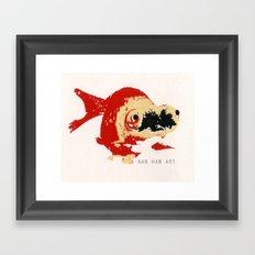 Gold Fish 2 Framed Art Print