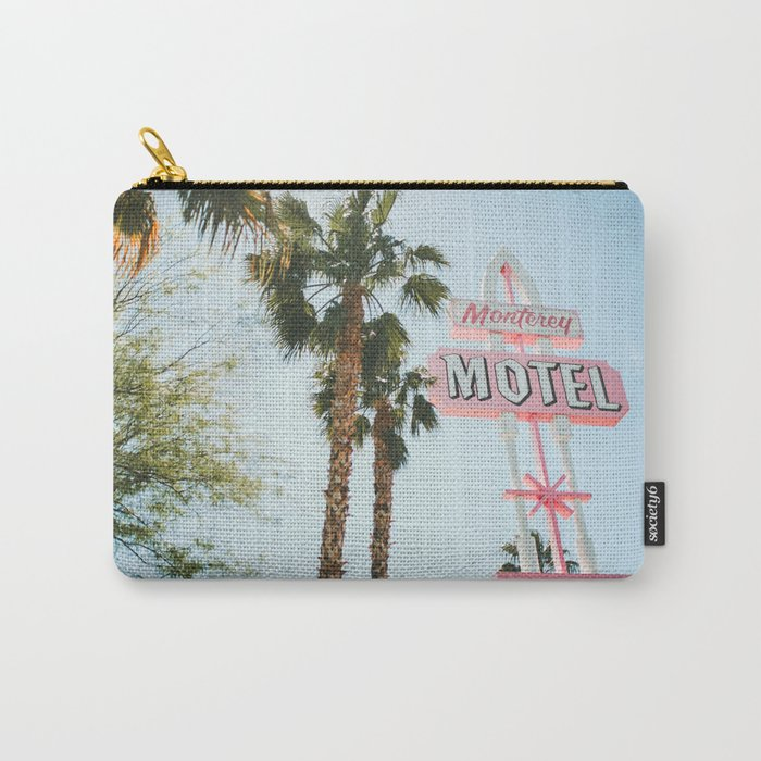 Motel Vintage Sign Carry-All Pouch