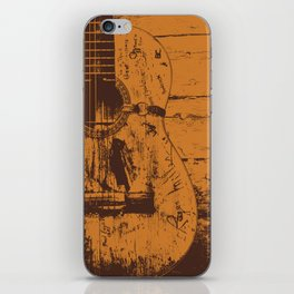 Trigger - Acoustic Guitar - Willie Nelson iPhone Skin