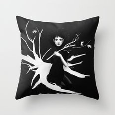Still Light Throw Pillow
