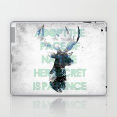 Adopt the pace of nature, her secret is patience Laptop & iPad Skin