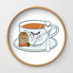 Tea fury Wall Clock