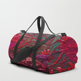 Red coral Duffle Bag
